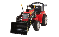 R/C Twin Motor Tractor - 12V Kids' Electric Ride On Tractor